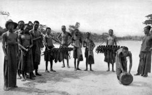 Native Musicians at Lusambo (Lualuba-Kassai) - p. 98