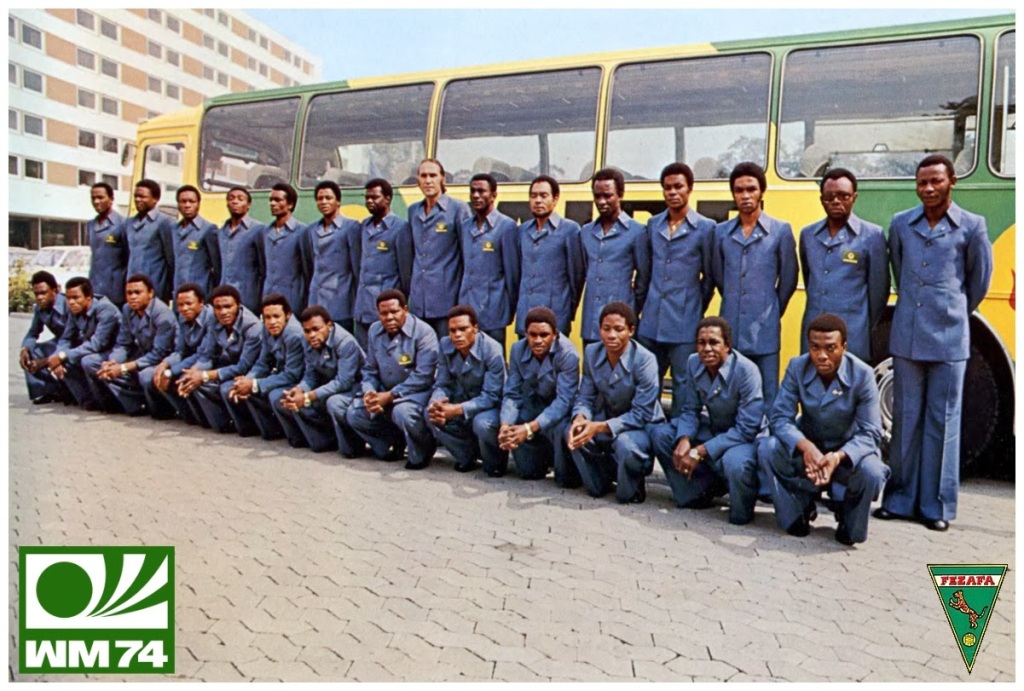Equipe du Zaïre Coupe du monde 1974