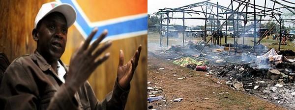Rwasa Agathon & Burnt Gatumba refugee camp