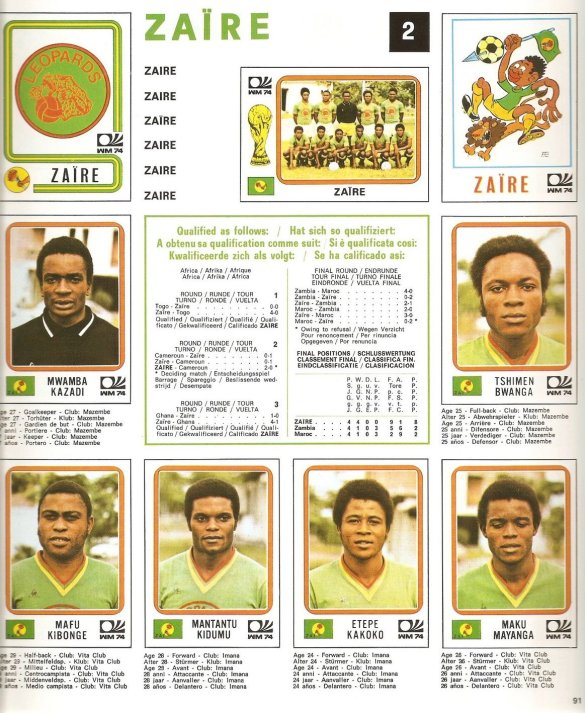 [Blog] Du Zaïre 1974