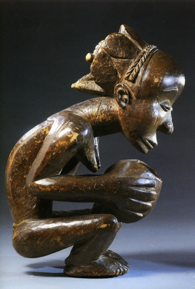 Coupe anthropomorphe Luba-Hemba