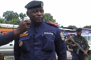 Gen. Célestin Kanyama, the primary commander of Operation Likofi
