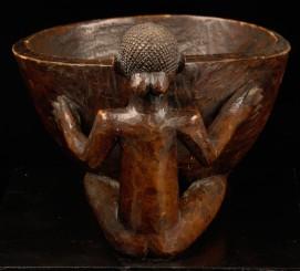Bol en bois Luba-Kanyoka