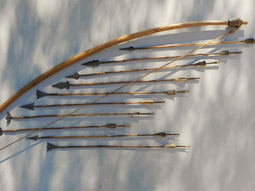 Arc et flèches lubas