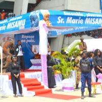 RDC: la dépouille mortelle de Marie Misamu exposée au stade desMartyrs