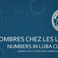 [Culture] Les nombres chez les Lubas